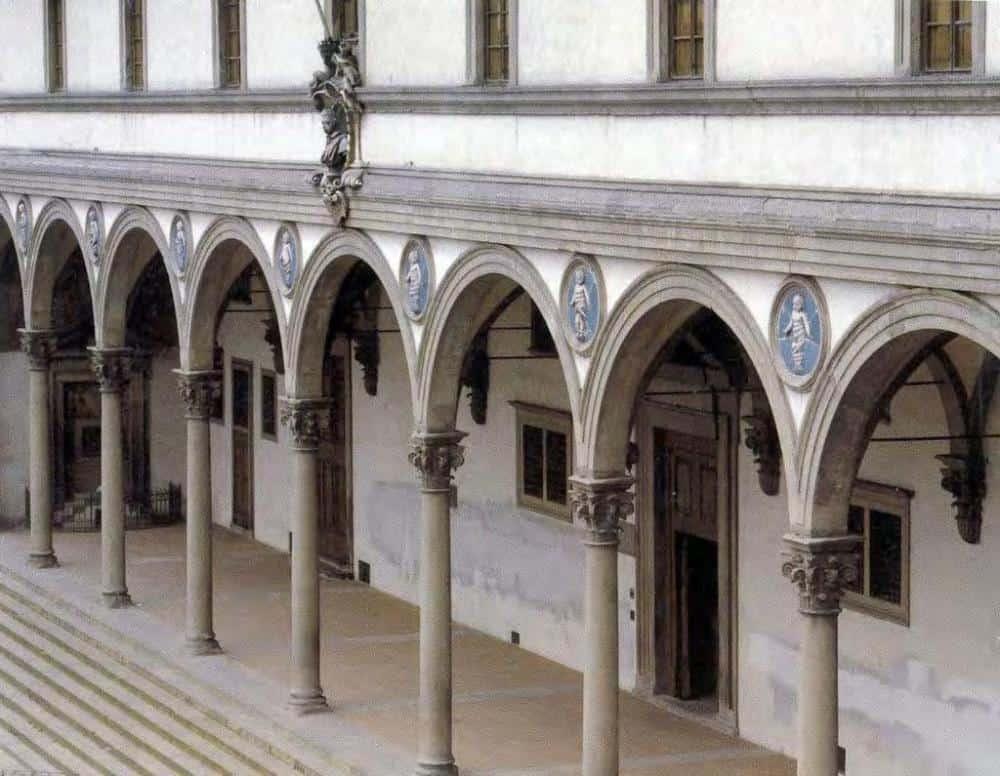 Hospital de los Inocentes, Florencia, Italia